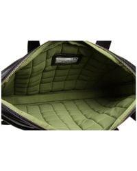 "Knomo - Black Henderson Slim 15"" Laptop Briefcase for Men - Lyst"