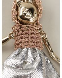 Servane Gaxotte - Metallic Cat Doll Necklace - Lyst