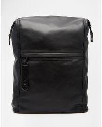 Dark Future Black Backpack With Front Pocket for men
