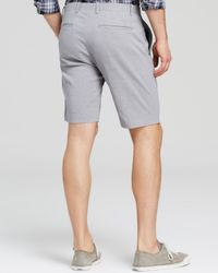 Theory Gray Zaine Tt S Crunch Shorts - Bloomingdale'S Exclusive for men