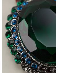 Gabriele Frantzen - Green Embellished Pendant Necklace - Lyst