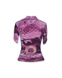 Roberta Scarpa - Purple Polo Shirt - Lyst