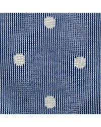 Thomas Pink Blue Ribbed Spot Socks for men