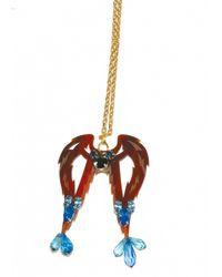 Matthew Williamson | Brown Virgo Pendant Necklace | Lyst