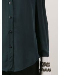 Maiyet - Green Beaded Cuff Blouse - Lyst