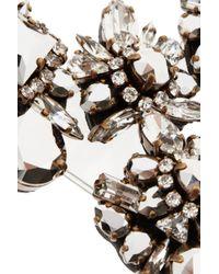 Shourouk | Pink River Comet Swarovski Crystal Necklace | Lyst