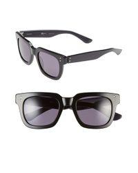 Oxydo | Gray 50mm Retro Sunglasses | Lyst
