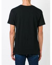 LES (ART)ISTS Black Les (art)ists Wang 83 Print T-shirt for men