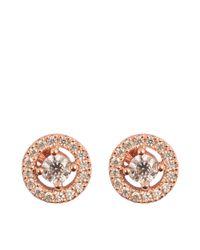 Thomas Sabo Pink Sterling Silver Earrings