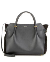Nina Ricci Black Marché Small Leather Tote