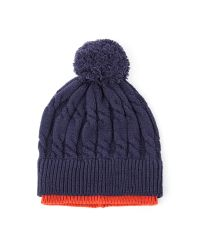Racing Green | Blue Harley Tipped Bobble Hat for Men | Lyst