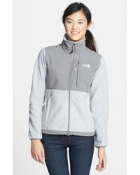 The North Face | Gray Denali Fleece Jacket | Lyst