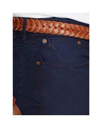 Ralph Lauren - Blue Cotton Poplin Pant for Men - Lyst