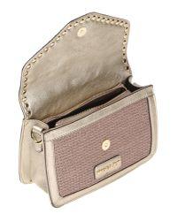 Mugler Metallic Cross-body Bag
