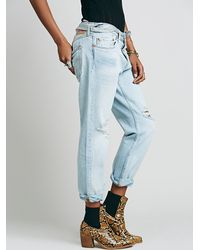 Free People | Blue 501 Ct Jean | Lyst