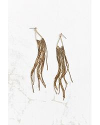 Urban Outfitters - Metallic Boom Boom Drop Earring - Lyst