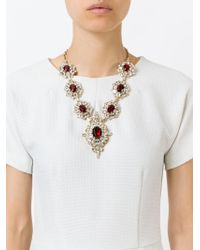 DSquared² | Metallic Embellished Necklace | Lyst
