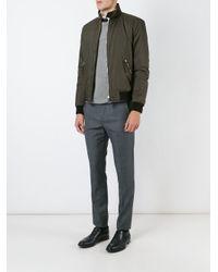 Valentino Green 'rockstud' Bomber Jacket for men