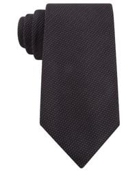 Kenneth Cole Reaction | Black Modern Pindot Tie for Men | Lyst