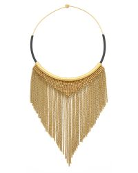 Fiona Paxton - Black Shade Necklace - Gold - Lyst