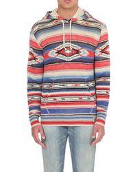 Ralph Lauren Multicolor Aztec-print Cotton-jersey Hoody - For Men for men