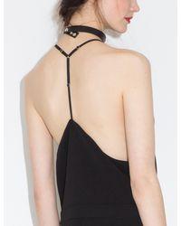 Pixie Market - Black Nana Culotte Jumpsuit - Lyst