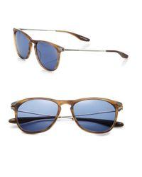Barton Perreira Blue Hakan 54Mm Square Sunglasses for men