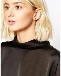 SELECTED - Metallic Majse Multipack Earrings - Lyst