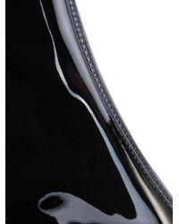 Saint Laurent Black Babies Patent-Leather Chelsea Boots
