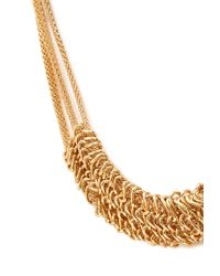 Forever 21 - Metallic Layered Snake Chain Necklace - Lyst
