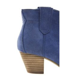 ALDO Blue Mandina Western Heeled Boot