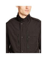 Ralph Lauren Black Label | Black Slim-fit Steering Jacket for Men | Lyst