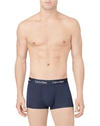 Calvin Klein | Blue Micro Modal Trunks for Men | Lyst
