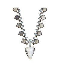 Nak Armstrong | Gray Women's Geometric-pendant Necklace | Lyst