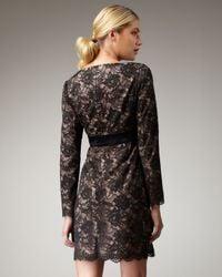 Trina Turk | Black Dentelle Lace Dress | Lyst