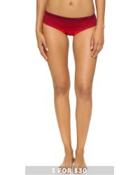 Calvin Klein | Red Seamless Illusions Boyshorts | Lyst
