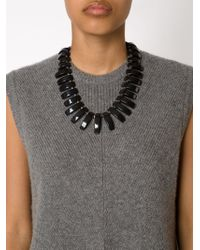 Lizzie Fortunato | Metallic 'tile' Necklace | Lyst