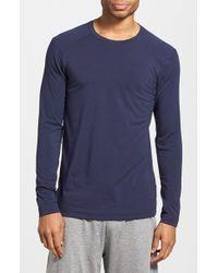 UGG | Blue 'fergus' Long Sleeve T-shirt for Men | Lyst