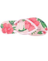 Havaianas | Pink Slim Floral Flip Flop | Lyst