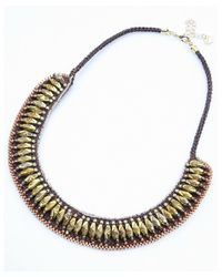 Nakamol | Metallic Monumental Necklace-gold/copper | Lyst