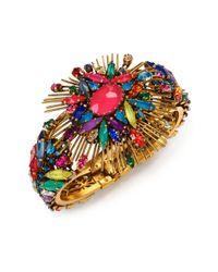 Erickson Beamon | Multicolor Telepathic Crystal Bracelet | Lyst