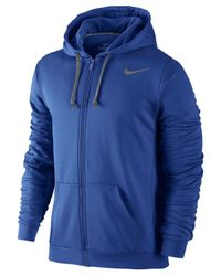 Nike | Blue Ko 3.0 Therma-fit Full-zip Hoodie for Men | Lyst