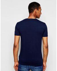 Antony Morato | Blue Crew Neck T-shirt for Men | Lyst