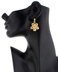 Coomi - Yellow Luminosity Diamond Earrings - Lyst