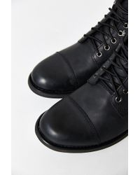 Eastland - Black High Fidelity Cap Toe Boot for Men - Lyst
