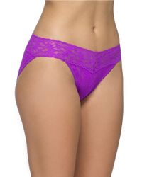 Hanky Panky | Purple Signature Lace Vikini Panties | Lyst