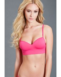 Forever 21 - Pink Classic Wireless Bralette - Lyst