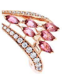 Shaun Leane - Pink Diamond, Tourmaline & Rose-Gold Ring - Lyst