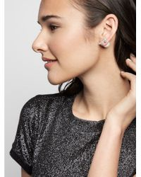 BaubleBar - White Ice Deco 360 Crawlers - Lyst