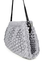Wool And The Gang | Gray Hey Now Clutch | Lyst